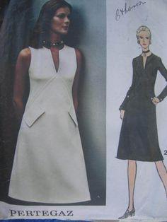 See Sally Sew-Patterns For Less - Couture Dress Designer Pertegaz Vogue 2624 Fashion Pattern Sz. 12 , $12.00 (http://stores.seesallysew.com/couture-dress-designer-pertegaz-vogue-2624-fashion-pattern-sz-12/)