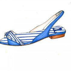 I'm in love with navy mood  #shoesdesigner#moodoftheday#moodboard#navymood#footwearillustration#shoedesign#shoeoftheday#ballerinas#flat#scarpechepassione#crazyforshoes#fashiondesigner#shoedesigner#footweardesigner#👠 #👡 #tagsforlikes