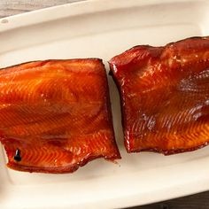 Smoked Salmon, Glazed with Birch or Maple Syrup @keyingredient