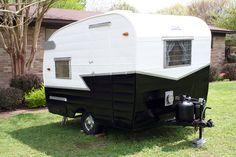 Vintage Camper Love this color too.