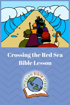 Crossing the Red Sea Pin Kids Church Lessons, Bible Lessons For Kids, Sunday School Lessons, Bible For Kids, Sea Crafts Preschool, Preschool Bible, Bible School Crafts, Sunday School Crafts, Bible Crafts
