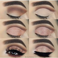 33 Eye Makeup Tutorials To Take Your Beauty To The Next Level - Make up - Makeup Goals, Love Makeup, Makeup Inspo, Makeup Inspiration, Beauty Makeup, Daily Inspiration, Cheap Makeup, Makeup Ideas, Skin Makeup