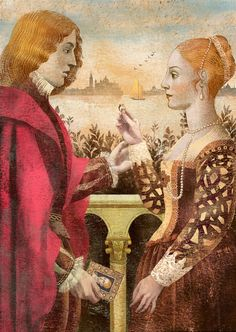 Anna + Elena = Balbusso Portfolio - The Merchant of Venice by William Shakespeare.