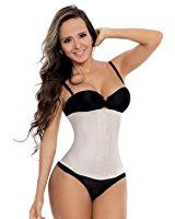e5aea373946af THE ONLY ORIGINAL Fajastec Women s Beauty Classic Latex Waist Cincher 3  Hook at Amazon Women s Clothing