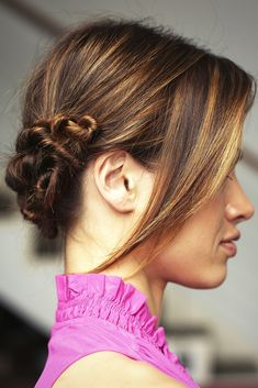 So twisted! A romantic yet edgy 'do! ...