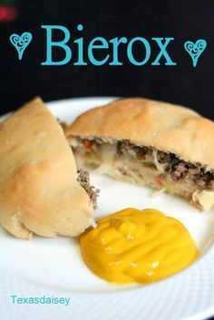 Bierox or Bierocks recipe, a traditional recipe that migrated to the U.S. with German settlers