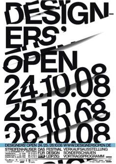 Designer Open #helvetica /// à la manière de Fontana?