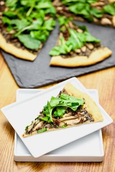 All of the flavors of the portobello carpaccio pizza mesh so perfectly that you want every bite to last forever. It was as good as a vacation- allowing...