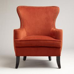 One of my favorite discoveries at WorldMarket.com: Nutmeg Elliott Wingback Chair