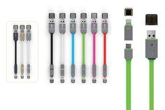 Cable Micro USB adaptador, (lector de tarjetas) es un cable de carga y sincronización que cuenta con un micro conector junto con un dos-en-uno con la funcionalidad de lectura de tarjeta.  usb_micro4