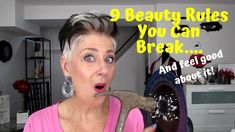 Today I am providing you with 9 Beauty Rules you can break and feel good about it. When we reach our and we pretty much know what we like and don't. Over 50, Over The Years, Timeless Beauty, True Beauty, Exfoliate Face, Tv Station, Beauty Studio, Lip Pencil, What's Trending