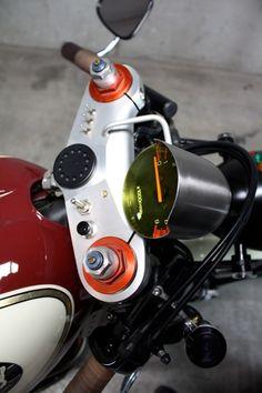 Yamaha XT600 Cafe Racer ~ Return of the Cafe Racers