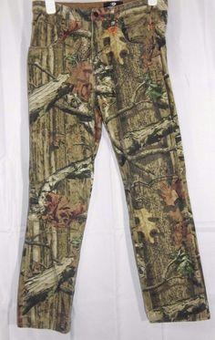 MOSSY OAK Break Up Infinity Mens Hunting PANTS Size 34/32   #MossyOak