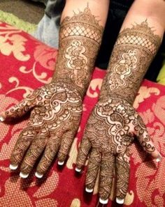 Henna designs 2014 I am going to show you some latest fresh and new Myrtle-e-Henna Designs 2014 for women's. And here we have some beautiful and tremendous