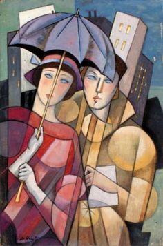 Bela de Kristo - Two Friends at Umbrella