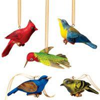 Audubon Birds Christmas Ornaments