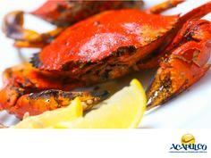 #gastronomiaguerrerense Prueba el delicioso cangrejo en Acapulco. LAS MEJORES RECETAS. El cangrejo, es una deliciosa comida que puedes encontrar en los restaurantes de Acapulco. Se prepara de muy variadas formas como en una rica paella, en crema y como relleno entre muchas otras, todas ellas deliciosas. Te invitamos a saborear esta delicia culinaria, durante tus próximas vacaciones en el maravilloso puerto de Acapulco. www.fidetur.guerrero.gob.mx