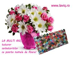 La multi ani de Florii!  www.laviq.ro www.facebook.com/pages/LaviQ/206808016028814 8 Martie, Events, Facebook, Birthday, Birthday Congratulations, Fotografia, Birthdays, Dirt Bike Birthday, Birth Day