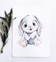 Looks like Znoozer Bunny Drawing, Bunny Art, Illustration Mignonne, Cute Illustration, Cute Animal Drawings, Cute Drawings, Art Drawings Sketches, Painting Inspiration, Art Lessons