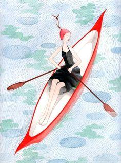 Rowing Girl by Sophie Blackall