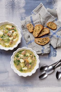 Clear Broth Clam Chowder | Rhode Island