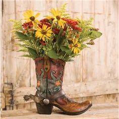 wagon silk flower arrangements - Google Search