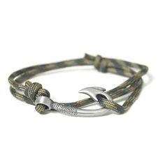 fishing hook Bracelet Camo