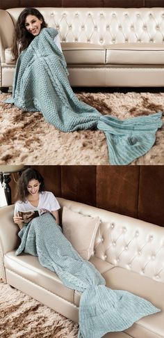 mermaid blanket,mermaid blankets,knitted mermaid blanket,gray mermaid blanket,hand made mermaid blanket