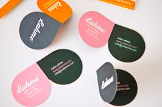 Would be a great card for a friend of mine who always wears this kind of form sunglasses :o) Corporate Identity, Identity Design, Logo Design, Business Cards Layout, Urban Gardening, Stationery Design, Gd, Typography, Branding