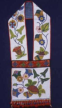 Ojibwe beadwork designs