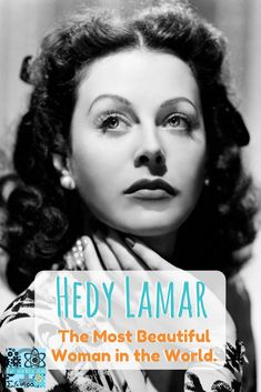 We all know that beauty and brains do not have to be separated. But sometimes and to some people, the combination comes as a surprise. Hedy Lamar was one of those people where her looks got her very far in some aspects of life but were also a force pushin