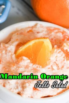 Mandarin Orange Jello Salad poses a flavor like an orange Dreamsicle frozen yogurt treat. Brilliant citrus flavor with a velvety, mousse-like surface, it's a sweet expansion to any feast. Easy Salad Recipes, Potluck Recipes, Chicken Salad Recipes, Top Recipes, Fish Recipes, Healthy Recipes, Rotisserie Chicken Tacos, Chicken Menu, Brocolli Recipes