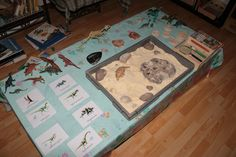 Atelier Découverte des dinosaures + recette pâte à sable pour oeuf de dino Montessori, Preschool, Birthday Parties, Activities, Party, Fun, Kids, Petite Section, Voici