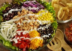 The very best salad ingredients, be them veggies, cheese, meats or other items, are the essential components that when combined transform the individual items into a real salad. Alone, these items are all delicious, but when you add them together and toss them with a delicious salad dressing, a yummy salad is created