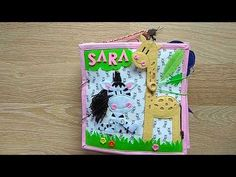Quiet Book for Sara Make It Yourself, Christmas Ornaments, Holiday Decor, Books, Youtube, Libros, Christmas Jewelry, Book, Christmas Decorations