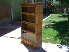 """4 stack """"D""""Gunn with drawer  / SOLD"""
