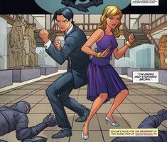 Tim Drake & Stephanie Brown in Red Robin #10 - Art by Marcus To, Ray McCarthy, & Guy Major