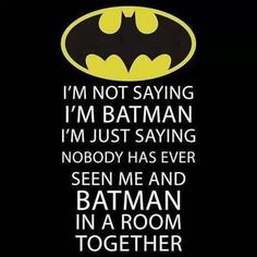 Luv Batman!