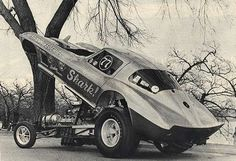 Vintage Drag Racing - Funny Car - Corvette