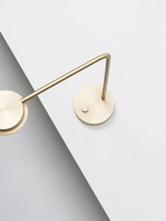 Solid Brass W102 Lamp | David Chipperfield for Wastberg http://www.cimmermann.uk/shop-by-brand/wastberg.html