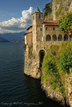 Hermitage Of S.Caterina Del Sasso, Varese, Italy