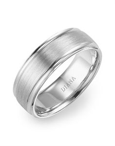I love the idea of engraving the bride's name into the groom's ring and vice versa