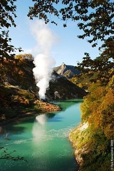Far eastern Russia. Kamchatka Valley of Geysers.