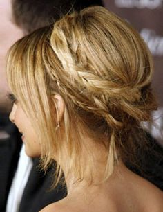 Boho Braids:  great for the summer heat!