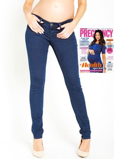 Queen Bee Jessica Mid Nolita Skinny Straight Maternity Jeans by ...