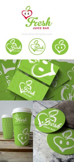 #design #logodesign #brandidentity #juicebar #juice #graphic #graphicdesign New! Fresh - Juice Bar - Identity Package for SALE! Price: $500 - Logo - Logo black and white - Logo variations / Badge - Business Cards ( 2 sides ) - Pattern What you will get: - Exclusive copyright - Customisable Fonts Format files: eps, pdf, png, jpg or any other at request.