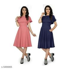 Dresses Women's Solid Navy Blue Crepe Dress Fabric: Crepe Sleeve Length: Short Sleeves Pattern: Solid Multipack: 2 Sizes: S (Bust Size: 36 in Length Size: 44 in)  XL (Bust Size: 42 in Length Size: 44 in)  L (Bust Size: 40 in Length Size: 44 in)  M (Bust Size: 38 in Length Size: 44 in)  XXL (Bust Size: 44 in Length Size: 44 in) Country of Origin: India Sizes Available: S, M, L, XL, XXL *Proof of Safe Delivery! Click to know on Safety Standards of Delivery Partners- https://ltl.sh/y_nZrAV3  Catalog Rating: ★3.9 (453)  Catalog Name: Urbane Graceful Women Dresses CatalogID_818971 C79-SC1025 Code: 266-5488865-