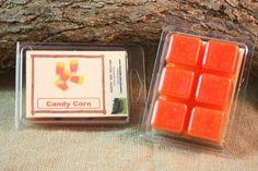 Candy Corn Wax Tarts, Fall Scented Wax Melts, Apple Cinnamon Scented Candle Wax