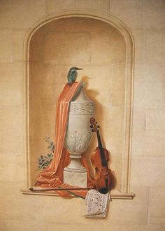 Ian Cairnie Trompe l'oeil ...... Ian Cairnie really is a lovely painter