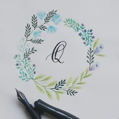 Quality not quantity #calligrafikas #grafikas #dreweuropeo #calligraphy #moderncalligraphy #dippen #nibs #inks #lettering #handlettering #handmade #script #handwriting #typeveryday #thedailytype #typedaily #type #goodtype #handstrokes #handrawn #random #words #phrases #practice #curiouscalligrapher #watercolor